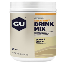 GU Energy Recovery Drink Mix - Nutrition sport - Vanilla Cream 750g